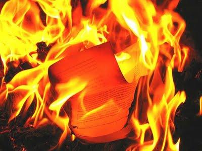 Cuadros quemados